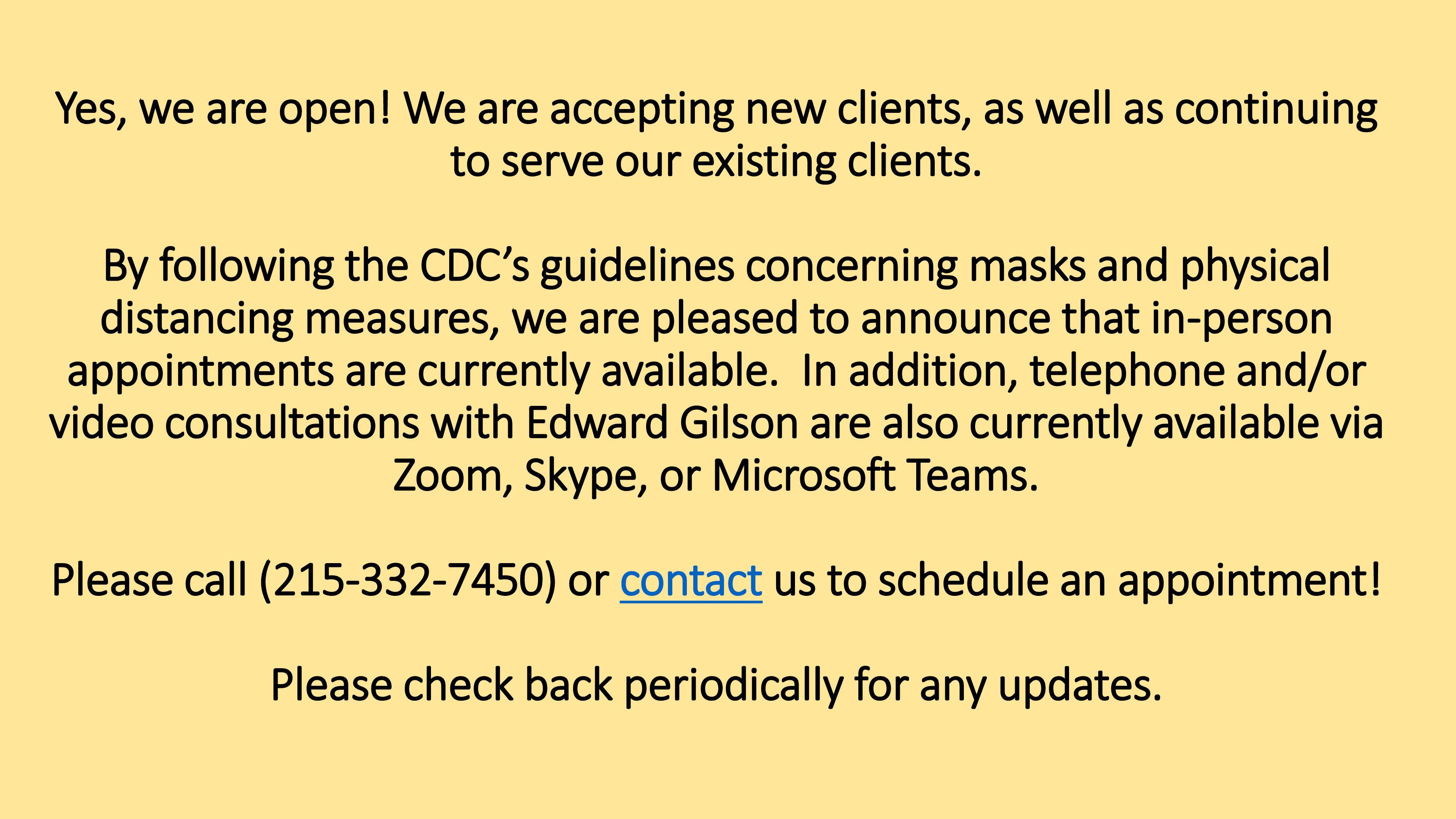 COVID announcement 8.10.2020